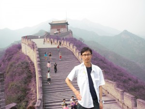 Me at Beijing's Great Wall