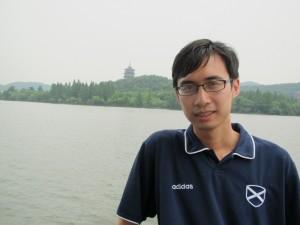 Me at Hangzhou's West Lake