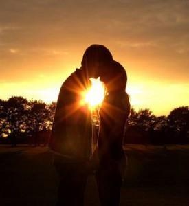 I love romantic sunsets