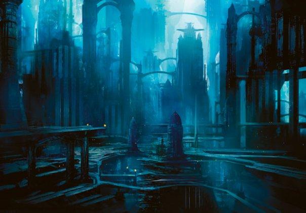 Dark Labyrinths of Alexander's Palace.