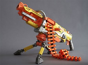 Nerf machine turret