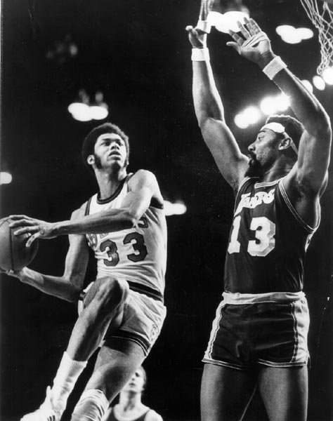 Wilt vs Kareem, two legendary centers