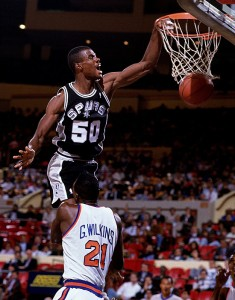 David Robinson was one of the greatest centers of his generation
