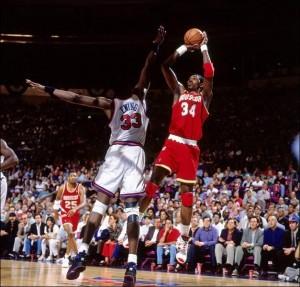 Hakeem Olajuwon is the all time NBA blocks leader