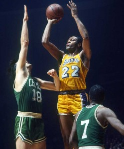 Elgin Baylor captained the Lakers in the 1960s