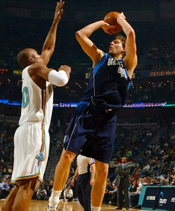 Dirk Nowitzki is one of the greatest power forwards of his generation