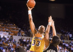 Kareem Abdul Jabbar scored the most points in NBA history