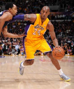 Kobe Bryant led the Lakers to 5 championships