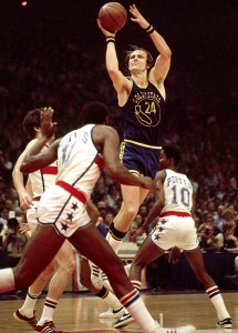 Rick Barry is the greatest pure small forward of all time