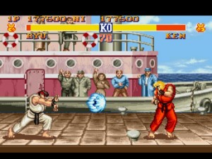 Street Fighter II popularized fighting games