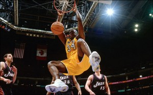 Shaq has the highest field goal percentage of all time