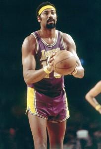 Wilt Chamberlain holds the NBA rebounding record