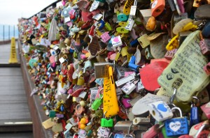 Lovers Locks at Seoul Tower