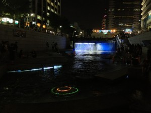 CheonggyeCheon in Gwanghwamun