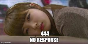 HTTP 444 NO RESPONSE