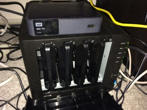Synology DS412+ w/4 WD Reds