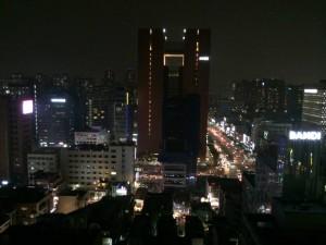 Gangnam nightscape