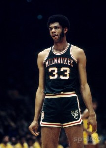 Kareem Abdul Jabbar is the NBA's all time leading scorer