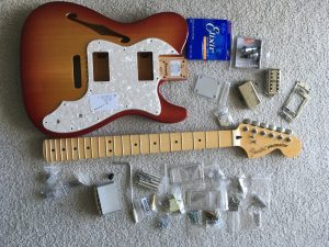 Building a custom guitar