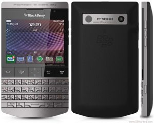 Blackberry Porsche P9981